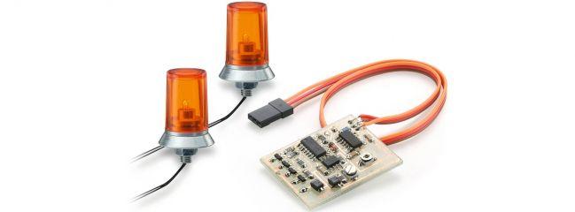 CARSON 500907125 Rundumleuchten orange mit Elektronik