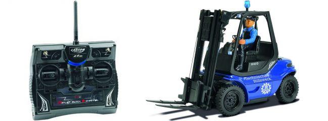 CARSON 500907175 THW Gabelstapler Linde H40D RTR 2.4 GHz |  Fertigmodell 1:14