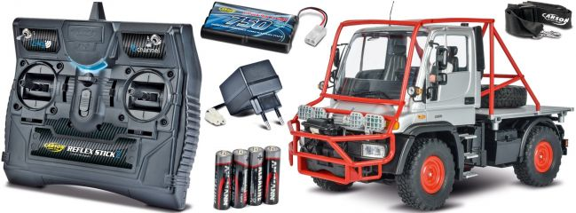 CARSON 500907251 Unimog U300 Desert Rally 2.4GHz | RC Unimog Komplett-RTR 1:12