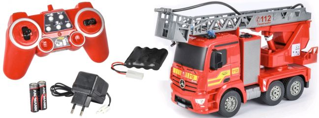 CARSON 500907282 Feuerwehrauto 2.4GHz | Komplett-RTR | RC Spielzeug Fertigmodell