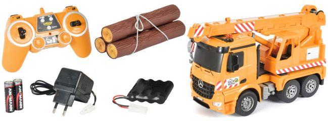 CARSON 500907285 Kranwagen 2.4GHz | RC LKW Komplett-RTR 1:20