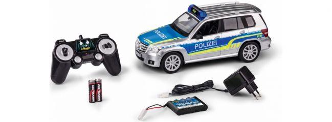 CARSON 500907304 Mercedes-Benz GLK Polizei | RC Spielzeugauto Komplett-RTR 1:14