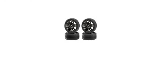 CARSON 500900025 Big Wheel Set Drift Tires | 4 Stück