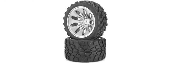 CARSON 500900047 Reifen-/Felgenset CV-10T Off-Road