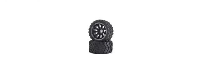 CARSON 500900049 Reifenset Off-Road CV-10T | 2 Stück