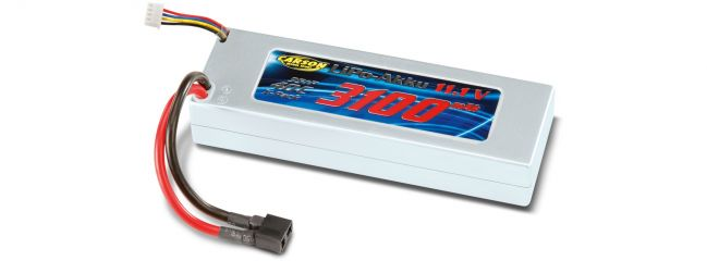 CARSON 500608102 Li-Po Racing Pack 11,1V/ 3100mAh mit Deans (T-Plug) 40C