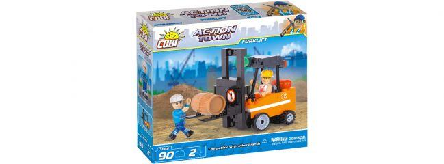 COBI 1668 Gabelstapler | Action Town Baukasten