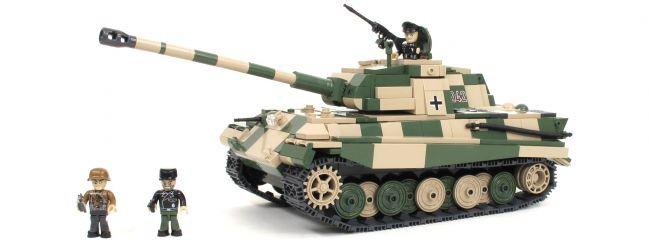 COBI 2480A Sd.Kfz.182 Königstiger Porsche Turm   Panzer Baukasten online kaufen