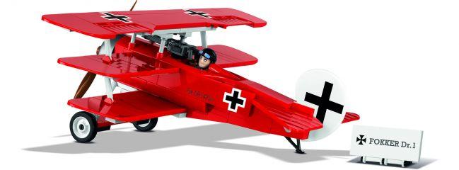 COBI 2974 Fokker Dr.I Roter Baron | Flugzeug Baukasten