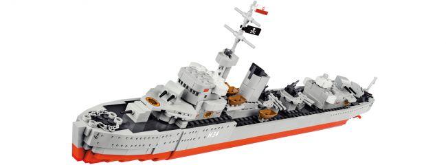 COBI 3080 ORP Blyskawica | World of Warships | Schiff Baukasten 1:200