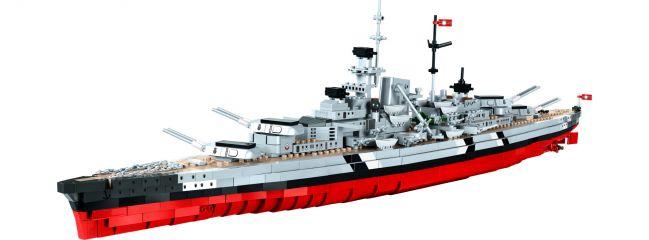 COBI 3081 Schlachtschiff Bismarck | World of Warships | Schiff Baukasten 1:300