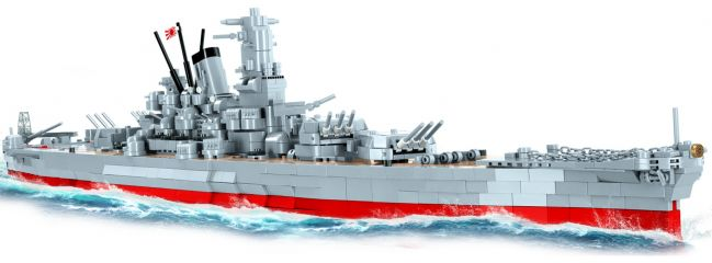 COBI 4811 Schlachtschiff Musashi | Schiff Baukasten 1:300
