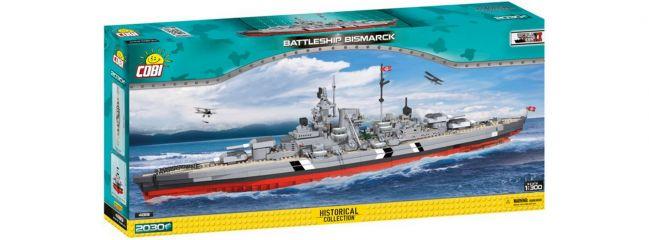 COBI 4819 Schlachtschiff Bismarck   Schiff Baukasten 1:300