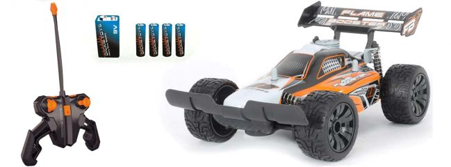 Dickie Toys 201119061 Flame Booster RC-Buggy | RTR | 40Mhz | 1:16