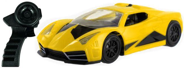 DMX 17504894 Road Warrior IR-Fahrzeug, gelb | mit Controller | Slot Car 1:32