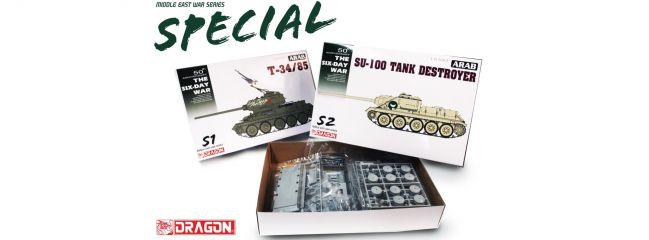 DRAGON 3572 SU-100 Tank Destroyer | Militär Bausatz 1:35