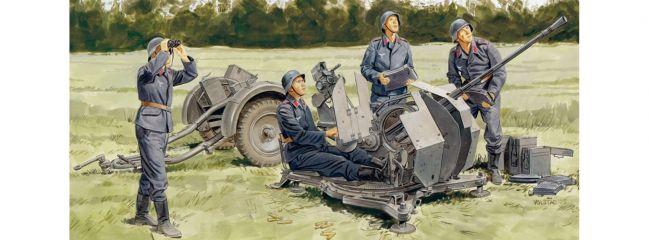 ausverkauft | DRAGON 6942 2cm FlaK 38 mit Sd.Ah.51 + Crew | Militär Bausatz 1:35