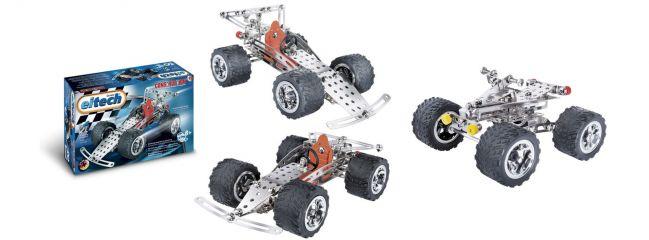 eitech 00092 Metallbaukasten Rennwagen/Quad | 180 Teile | Construction Serie