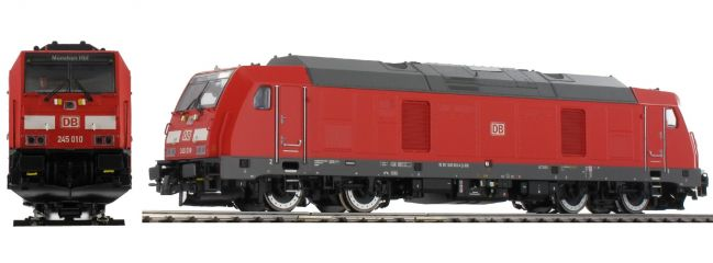 ESU 31094 Diesellok BR 245 010 verkehrsrot DB   digital Sound+Rauch   DC/AC   Spur H0