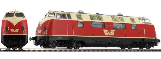 ESU B-WARE 31334 Diesellok BR 417 01 rot/beige | EVB | DC/AC | Sound u. Rauch | Spur H0