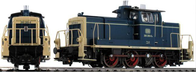 ESU 31411 Diesellok BR V60 260 269 Ozeanblau-Beige DB   digital   Rauch+Sound   Spur H0