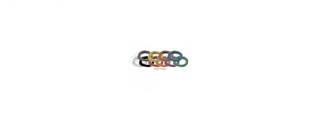 ESU 51949 Hochflexibles Kabel | blau | Ø 0,5 mm | AWG36 | 10 Meter