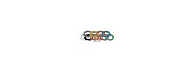ESU 51944 Hochflexibles Kabel | orange | Ø 0,5 mm | AWG36 | 10 Meter