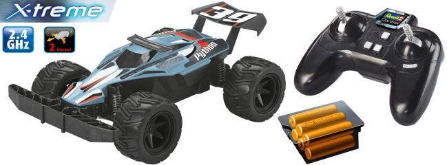 Revell 24823 Buggy PYTHON | Revell Control X-Treme | RC Spielzeug-Auto RTR