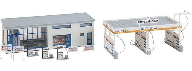 FALLER 130154 Autowaschanlage   Gebäude Bausatz Spur H0