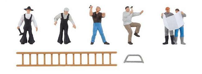 FALLER 150930 Gebäudesanierung | 6 Handwerker-Figuren | Spur H0