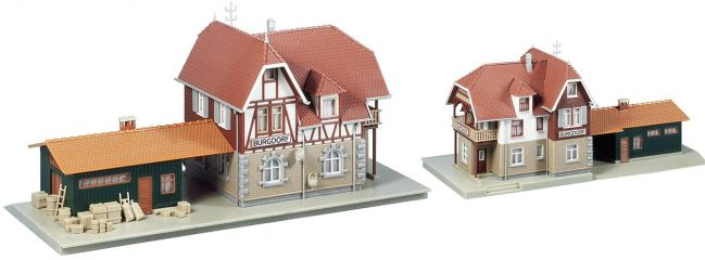 FALLER 131377 Bahnhof Burgdorf Hobby Bausatz 1:87