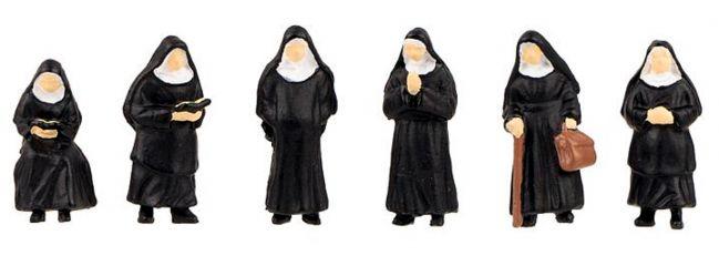 FALLER 151601 Nonnen | 6 Stück | Figuren Spur H0