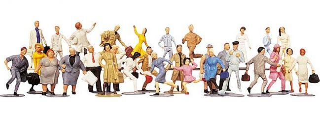 FALLER 153002 Reisende + Passanten | 36 Miniaturfiguren | Spur H0