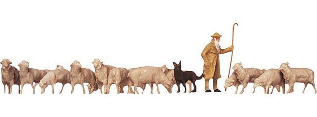 FALLER 154001 Schäfer + Hunde + Schafe   Miniaturfiguren Spur H0