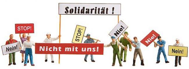 ausverkauft | FALLER 155323 Demonstranten Miniaturfiguren Spur N