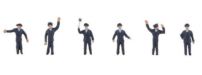 FALLER 155351 Polizisten 6 Figuren 1:160