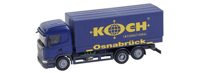FALLER 161595 Scania R 2013 HL Gardinenplanen-LKW Koch CarSystem Fahrzeug Spur H0