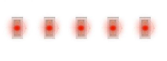 FALLER 163752 SMD-LEDs rot 5 Stück Zubehör Beleuchtung
