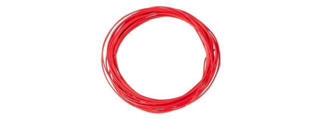 FALLER 163781 Litze 0,04 mm²  rot 10m Anlagenbau für alle Spurweiten