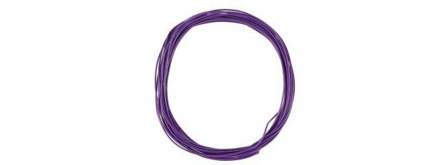 FALLER 163787 Litze 0,04 mm² violett 10m Zubehör Anlagenbau alle Spurweiten