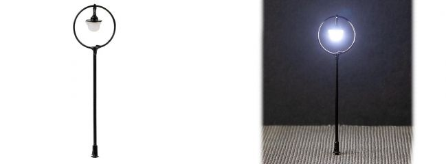FALLER 180205 LED-Parklaterne Kugelhängeleuchte Fertigmodell Spur H0