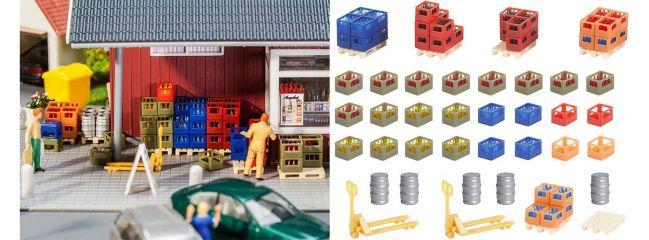 FALLER 180353 Getränkehandel-Inneneinrichtung | Zubehör Spur H0