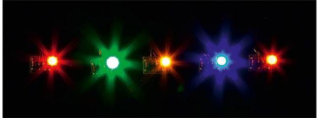 FALLER 180652 LED bunt gemischt | 5 Stück | für 12 bis 16 Volt