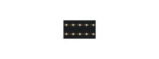 FALLER 180654 LED-Lichtleisten | warm weiß | Packung mit 2 Stück