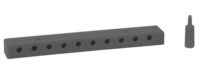 FALLER 180805 Verteilerplatte, schwarz | 1 Stück