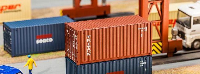 FALLER 180834 20ft Container TRITON Zubehör für LKW Spur 1:87