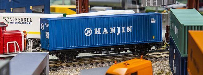 FALLER 180842 40ft Hi-Cube Container HANJIN Zubehör Spur H0