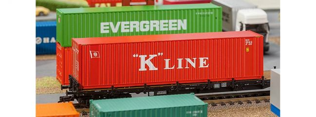 FALLER 180848 40 ft Container K Line| Spur H0
