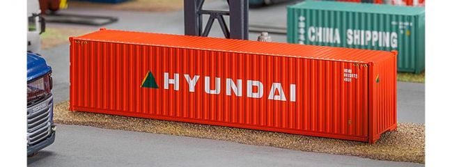 FALLER 180849 40 ft Container Hyundai | Spur H0
