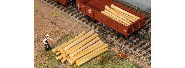 FALLER 180925 Baumstämme | 20 Stück | Ladegut Güterwagen | Spur H0